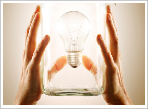 Lightbulb in a jar public domain picture from FBI
